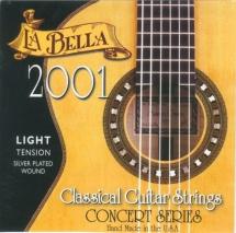 Labella Concert Serie ? Nylon Clair / File Argent ? Light Tension