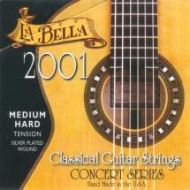 Labella Concert Serie ? Nylon Clair / File Argent ? Medium Hard