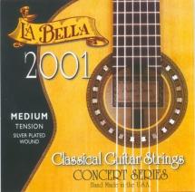 Labella Concert Serie ? Nylon Clair / File Argent ? Medium Tension