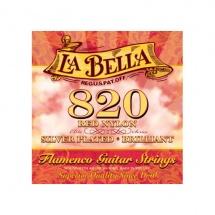 Labella Pack De 12 Cordes Flamenco Nylon Rouge Mi 1 ? Medium Tension