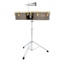 Lp Latin Percussion M257-bng Timbales Matador Brushed Nickel/gold Tone
