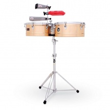Lp Latin Percussion Lp1415-bz - 14 Et 15 Timbales Prestige Bronze
