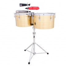 Lp Latin Percussion Lp258-b - 15 Et 16 Timbales Tito Puente Thunder Timbs