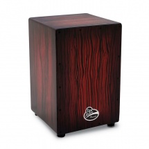 Lp Latin Percussion Lpa1332-dws Cajon Aspire Accents Dark Wood Streak