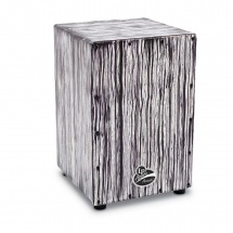 Lp Latin Percussion Lpa1332-ws Cajon Aspire Accents White Streak