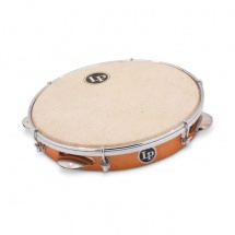 Lp Latin Percussion Lp3010n Pandeiro Brazilian 10 Peau Naturelle