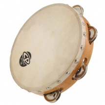 Lp Latin Percussion Cp378 Tambourins Cp Bois 8 Simple Rangee