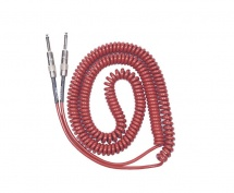 Lava Cable Retro Coil Metallic Red 20ft S/s Silent
