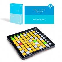 Ableton Launchpad Mini Mkii + Live 10 Standard Edition - Mise A Jour Live Lite (en Téléchargement)