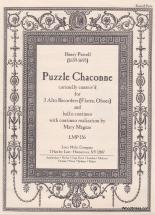 Purcell H. - Puzzle Chaconne, Curiously Contriv