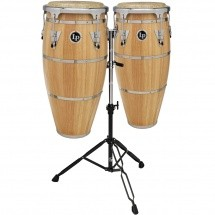 Lp Latin Percussion Lph646-snc - Duo Quinto 10 and Conga 11 Highline + Stand - Naturel