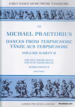 Praetorius M. - Dances From Terpsichore Vol. Ii - 5 Instruments