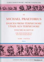 Praetorius M. - Dances From Terpsichore Vol. Iii - 4 Instruments