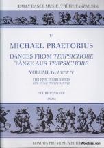 Praetorius M. - Dances From Terpsichore Vol. Iv - 5 Instruments