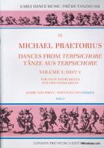 Praetorius M. - Dances From Terpsichore  Vol. V - 4 Instruments