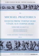 Praetorius M. - Dances From Terpsichore Vol. Vi - 5 Instruments