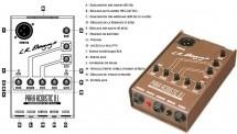 Lr Baggs Lr Baggs Para Acoustic D.i. Boitier De Direct Actif Pour Guitare Acoustique