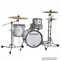 Ludwig Lc179xo28 - Kit Breakbeats Questlove White Sparkle