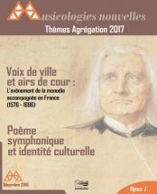 Musicologies Nouvelles - Agregation 2017