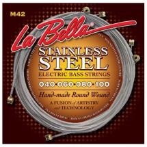 Labella Hard Rockin Steel Serie ? Round Wound ? Custom Light ? 40/100