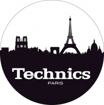Magma Lp Slipmat Technics Paris Black/white