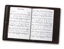 Music Sales Classeur Porte Partition Chorale Noire