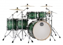 Mapex Armory 6 Fûts Rock Studioease Verte Emerald Burst (sans Hardware)