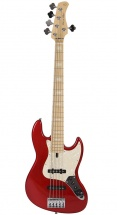 Sire Marcus Miller V7 Swamp Ash-5 Bmr Mn Bright Metallic Red