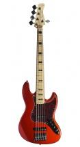 Sire Marcus Miller V7 Vintage Swamp Ash-5 Bmr Bright Metallic Red