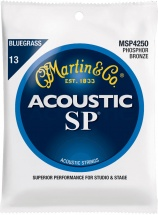 Martin Guitars Jeu Cordes - Sp Bluegrass - 92/8