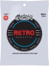 Martin Guitars Cordes Acoustiques Retro Monel Jeux Light !12-15-25-31-41-54