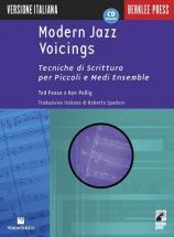 Pease Ted/pulling Ken - Modern Jazz Voicings + Cd - Italian Version