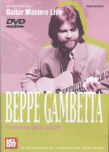 Dvd Guitar Masters Live Gambetta Beppe Flatpicking Guitar Artistry