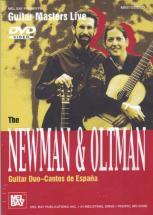 Dvd Guitar Masters Live Newman & Oltman Guitar Duo Cantos De Espana