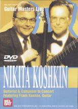 Dvd Guitar Masters Live Koshkin Nikita