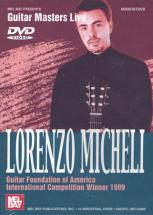 Dvd Guitar Masters Live Micheli Lorenzo