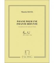 Ravel M. - Pavane Pour Une Infante Defunte - Alto Et Piano