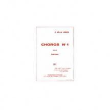 Villa Lobos H. - Choros N 1 - Guitare