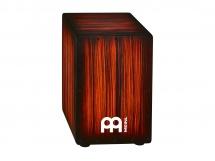 Meinl Cajon Headliner Rojo Tiger Stripe