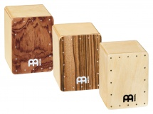 Meinl Set 3 Mini Cajon Shaker 2 W X 2 3/4 H X 2 D