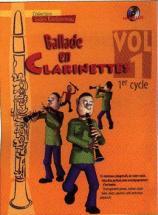 Ballade En Clarinette Vol.1 1er Cycle + Cd