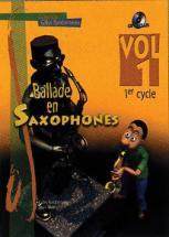 Ballade En Saxophone Vol.1 1er Cycle + Cd