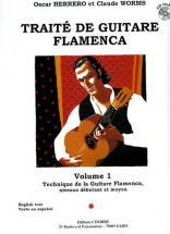 Herrero O. / Worms C. - Traite De Guitare Flamenca Vol.1 + Cd