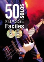 Tauzin Bruno - 50 Solos De Basse Faciles + Cd Mp3 + Dvd