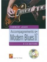 Daniel Pox Pochon - Comment Jouer - Accompagnements Et Solos Modern Blues - Guitare + Cd