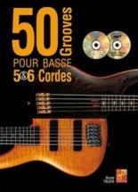 Tauzin Bruno - 50 Grooves Pour Basse 5 & 6 Cordes + Dvd + Cd