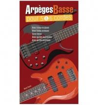 Tauzin Bruno - Arpeges Pour Basse 5 and 6 Cordes