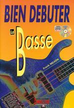 Nelson Frank - Bien Debuter La Basse + Cd - Basse