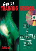 Guitar Training Session - Riffs Et Rythmiques Blues + Cd
