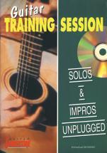 Devignac Emmanuel - Solos & Impros Unplugged + Cd - Guitare Tab
